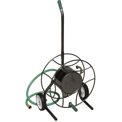 Compact Two-wheeled Steel Hose Cart