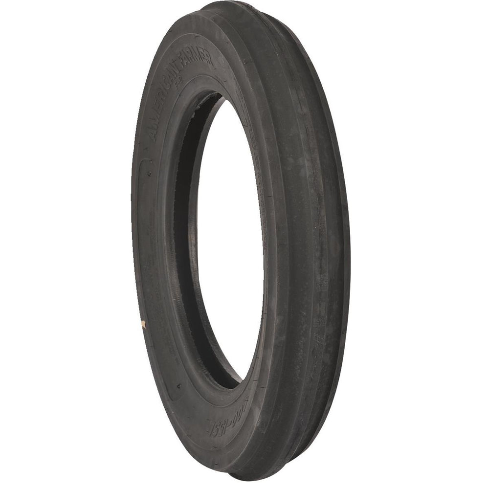 4.00 x 15 4-ply F-2 Three Rib Front Tractor Tire