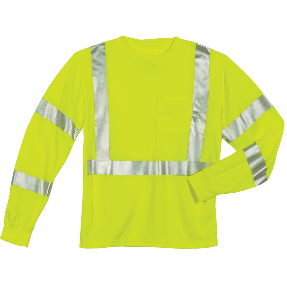 Tingley Hi-Vis ANSI Class 3 Long-Sleeve T-Shirt