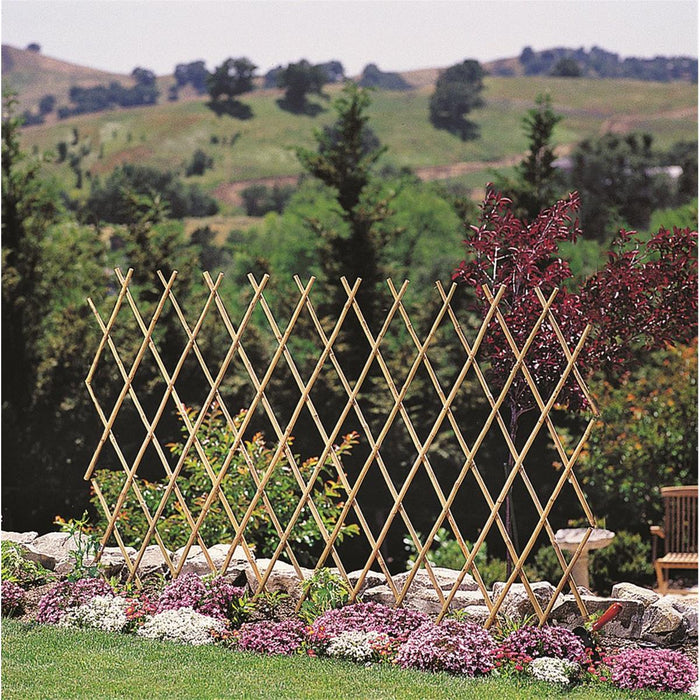 Expandable Bamboo Accordion Fence