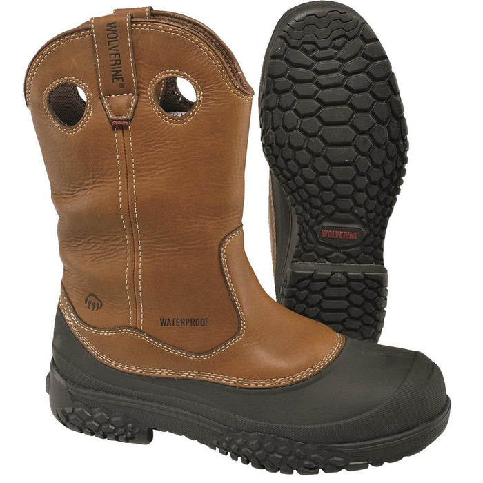 "Wolverine SwampMonster™ 10""H Steel Toe Waterproof Wellingtons"