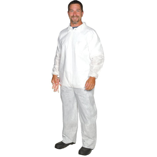 A10 Light-Duty Coveralls with Elastic Wrists and Ankles