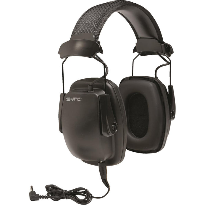 Sync™ MP3-Compatible Earmuffs