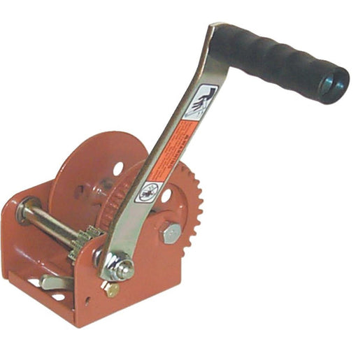 Hand Cranked Winch With 900-lb. Pulling Capacity