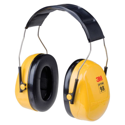 3M™ PELTOR™ Optime™ 98 Earmuffs H9A, Over-the-Head, Case of 10