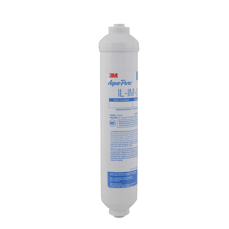 3M™ Aqua-Pure™ In-Line Water Filter System IL-IM-01, 5617202, Case of 10