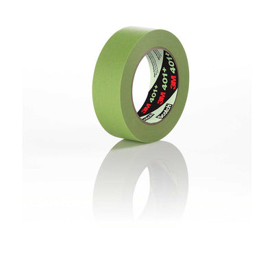 3M™ High Performance Green Masking Tape 401+, 48 mm x 55 m 6.7 mil, Case of 12