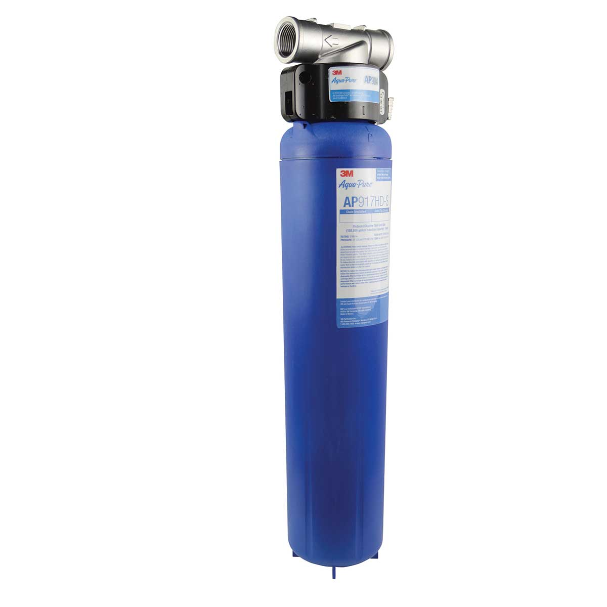 3M™ Aqua-Pure™ AP900 Series Whole House Water Filtration System AP904, 5621104, Sanitary Quick-Change