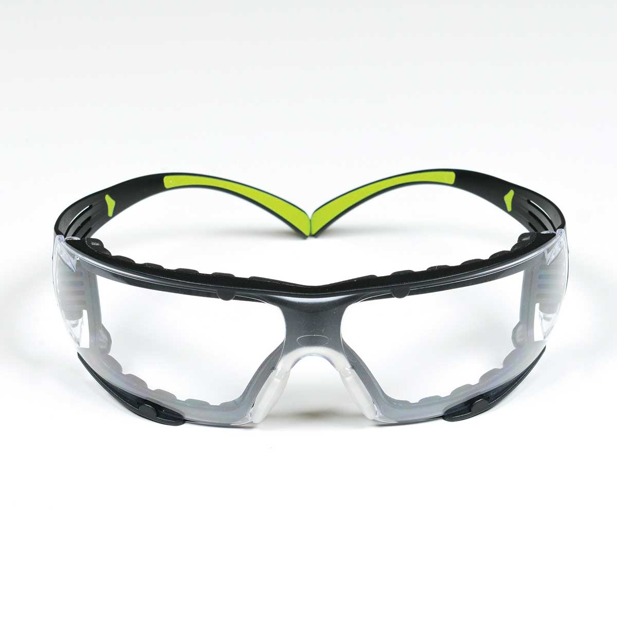 3M™ SecureFit™ Safety Glasses SF401AF-FM, Foam, Clear Anti-fog Lens, Case of 20