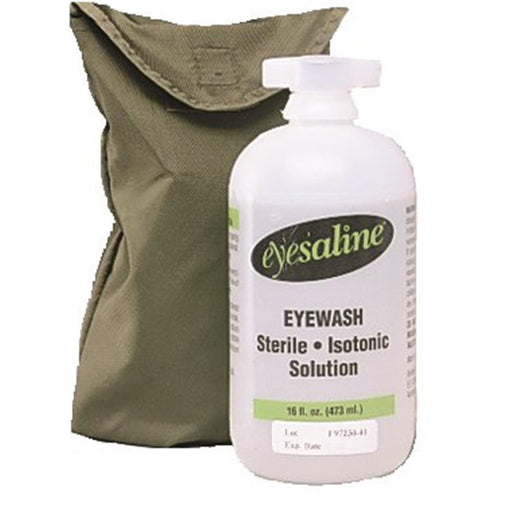 Eyesaline® Portable Eyewash Belt Pak, 16-oz. Bottle