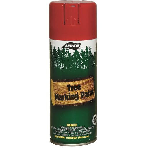 Aervoe Red Paint for Tree and Log Marking