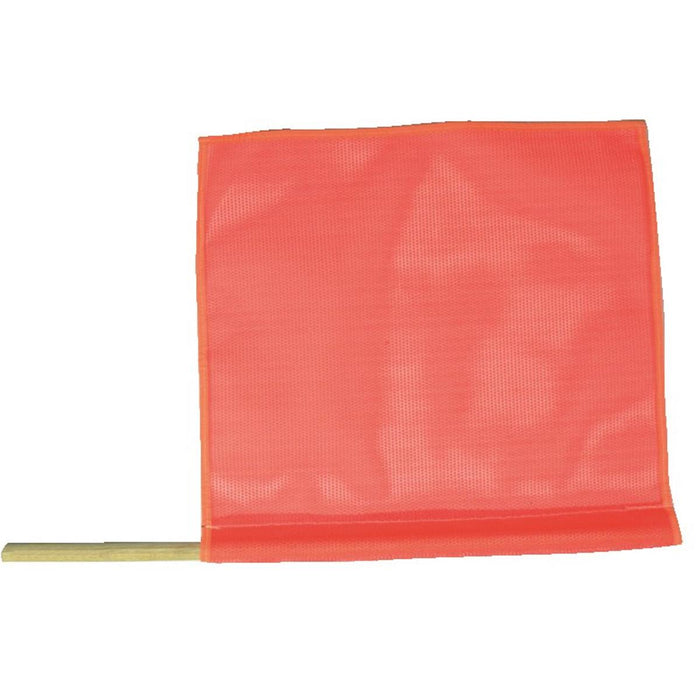 Blaze Orange Mesh Traffic Safety Flag