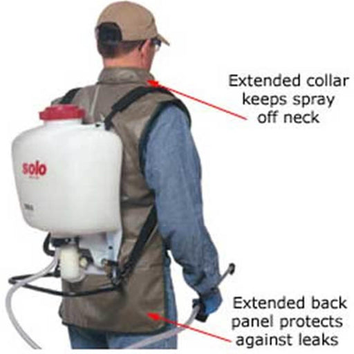 Spray Vest™ Backpack Sprayer Leakage Protection Vest