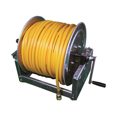 "12"" Hose Reel w/300' of 3/8"" Sprayer Hose"