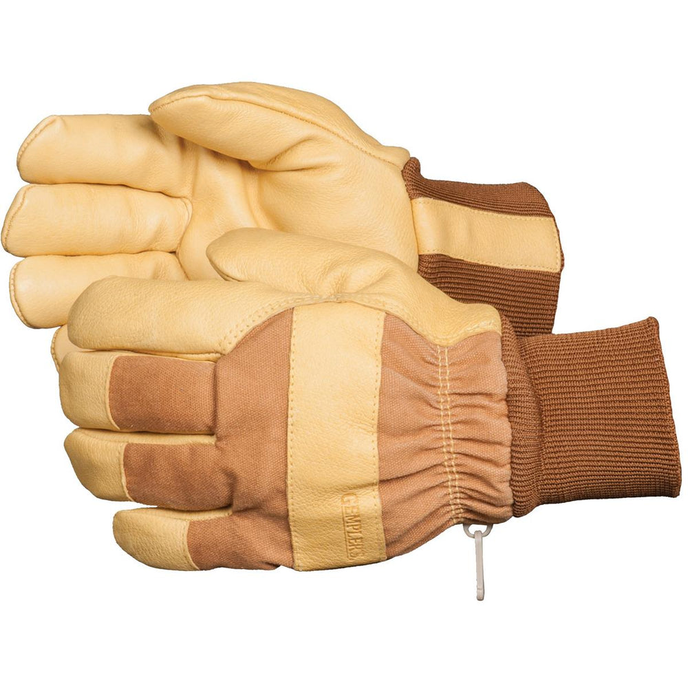 GEMPLER'S Insulated, Waterproof Pigskin Gloves with Knit Wrist