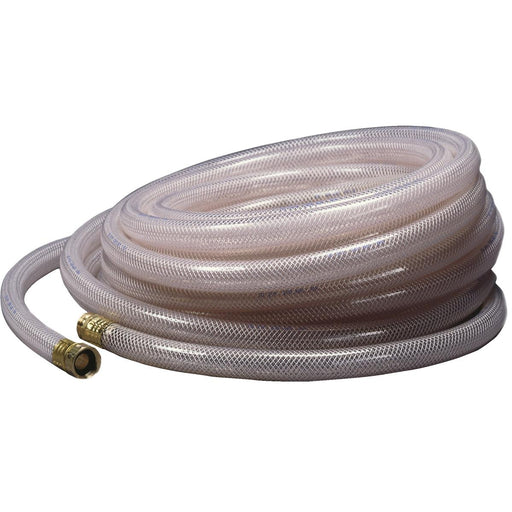 "APACHE Deluxe PVC Chemical-Resistant Water Hose, 100'L with 3/4"" Hose I.D."