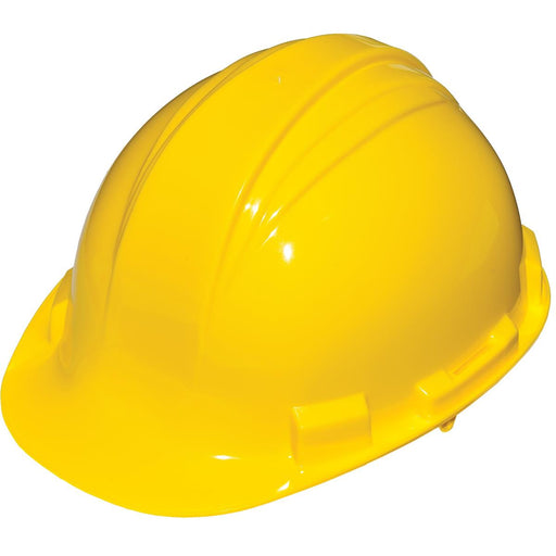 Economical Peak Hard Hat w/Pin-Lock Suspension