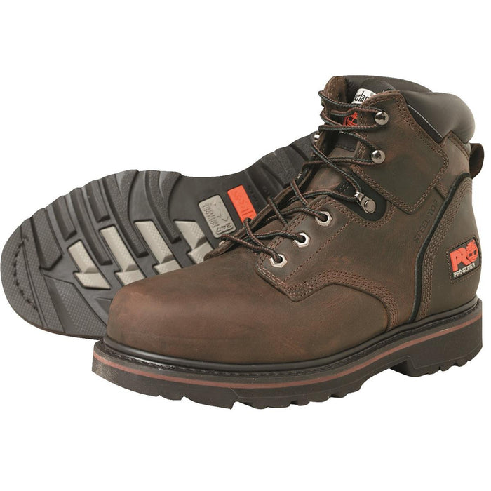 "Timberland PRO Pit Boss 6""H Steel Toe Work Boots"