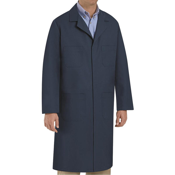 "VF Workwear Cotton Polyester Shop Coat, 43-3/4""L"