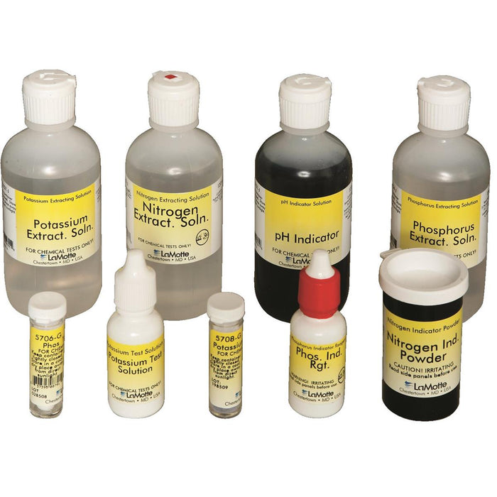 LaMotte Basic Soil Test Kit Refill
