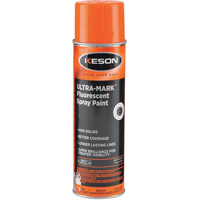 KESON Red-Orange Fluorescent Marking Paint