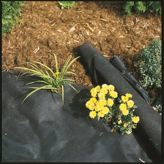 DeWitt Black Non-woven Spunbound Weed Fabric