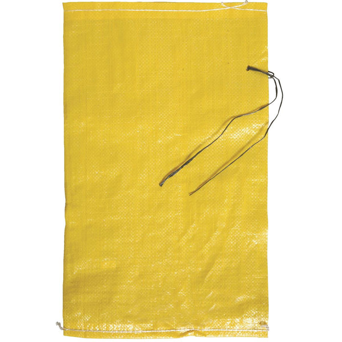 "Woven Plastic Bags with Tie, 12""W x 20""L"