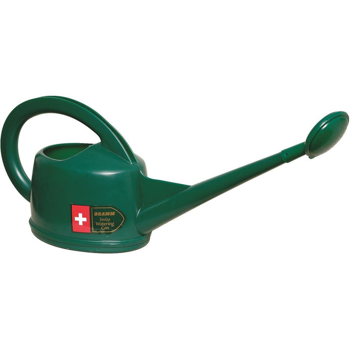 1/2-gal. Heavy-Duty Plastic Watering Can with Spout and Rose