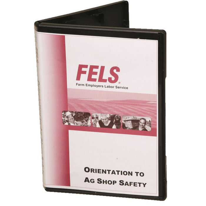 Bilingual Orientation to Ag Shop Safety Training DVD