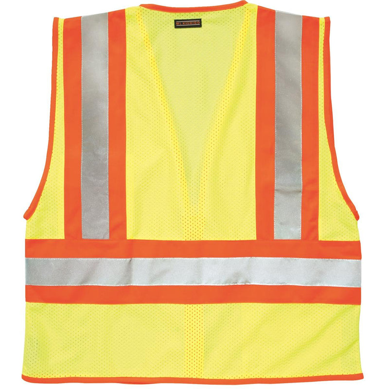 ANSI Class II Safety Vest with Wide Reflective Striping
