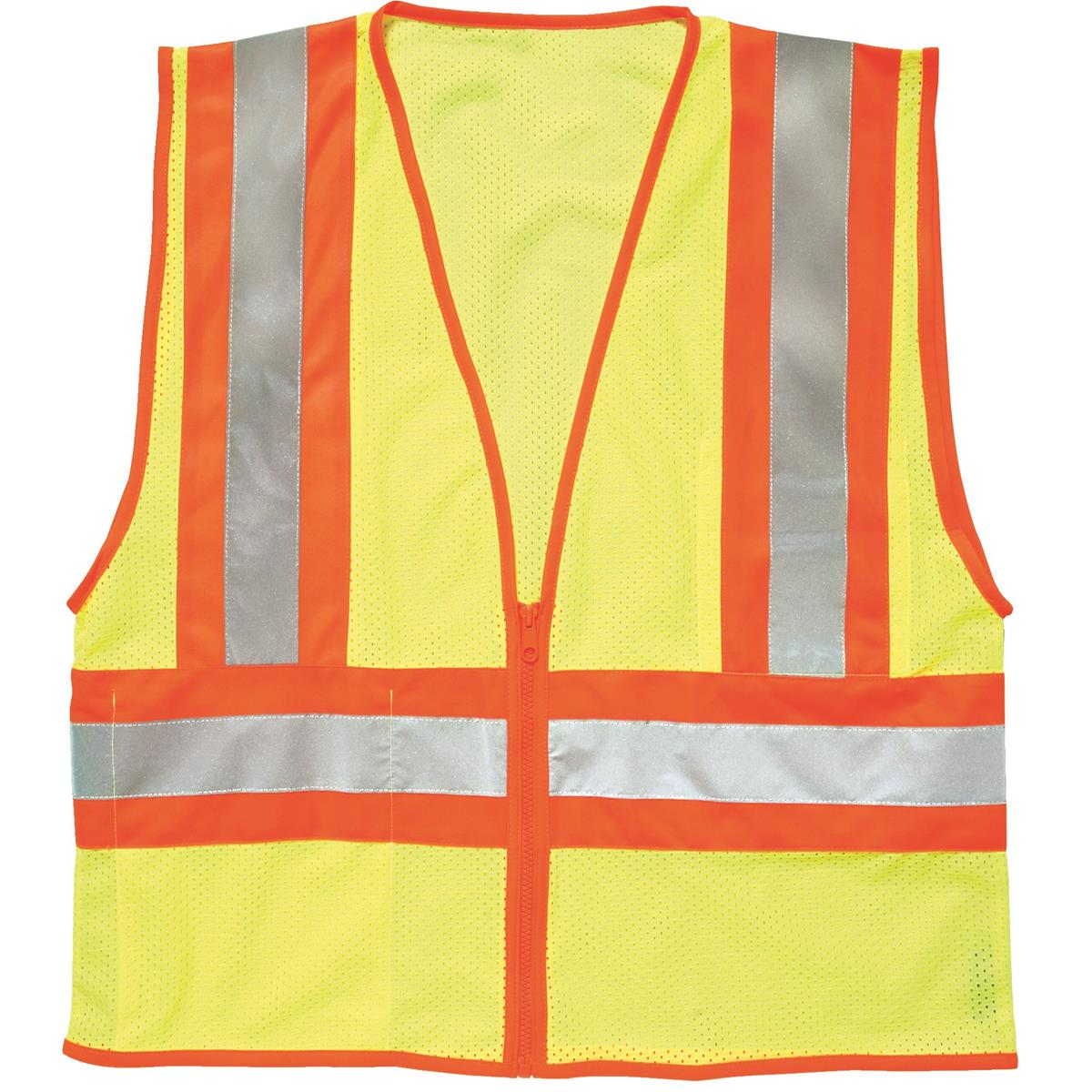 ML Kishigo ANSI Class II Safety Vest with Wide Reflective Striping