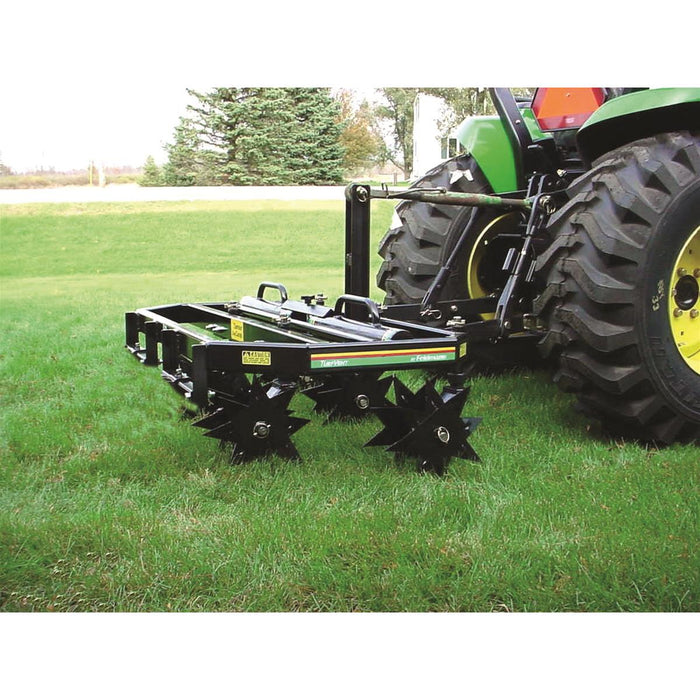"52""W CoreCaster™ 3-Point Tractor Aerator"