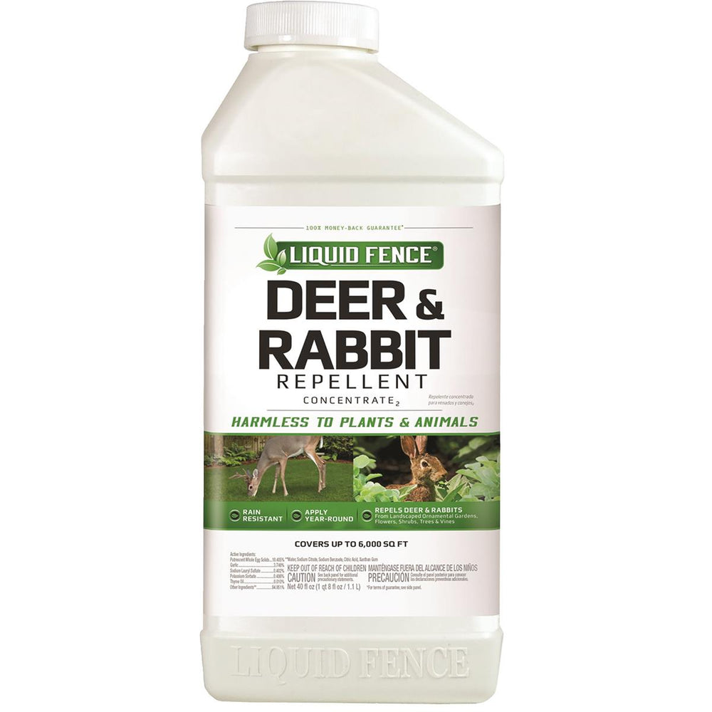 Deer & Rabbit Repellent, 40-oz. Concentrate