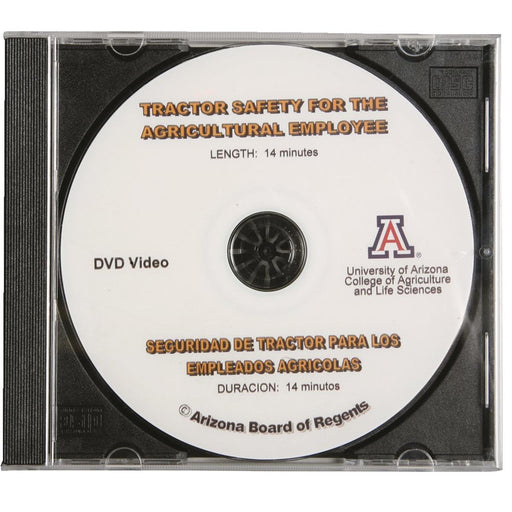 Tractor Safety for Agricultural Employees - Bilingual DVD