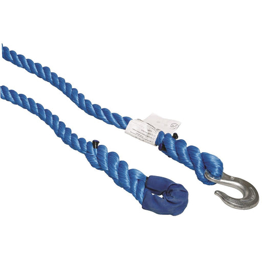 Polypropylene Towing Rope With One Loop And One Hook