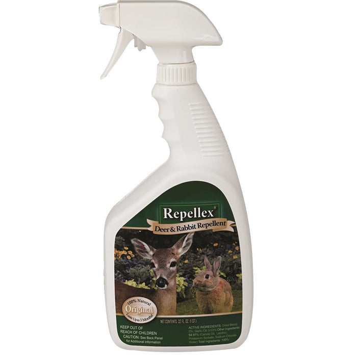Repellex® Deer and Rabbit Repellent, Blood-based Formula
