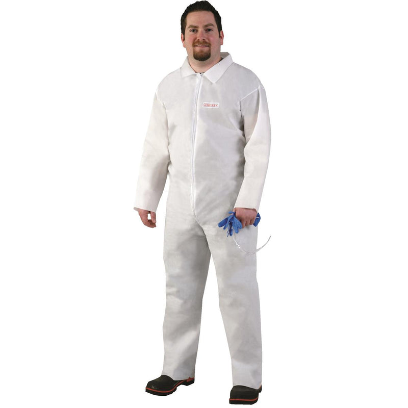 Protective Coveralls - Unhooded with Open Wrists and Ankles