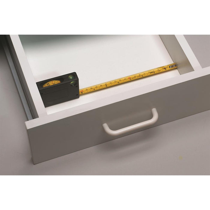 BMI® Window Tape Measure with Level