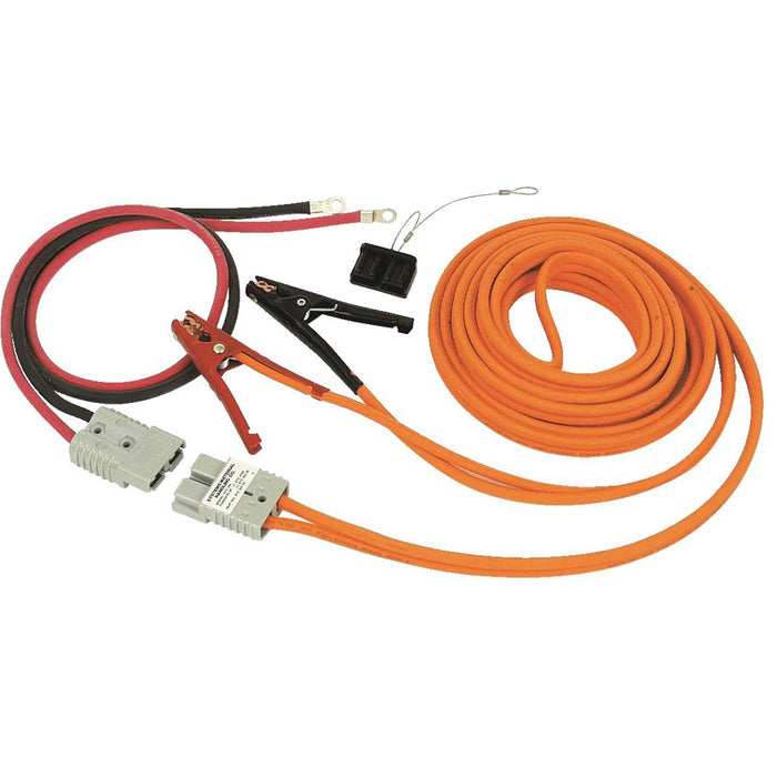 25'L, 4-ga. Booster Cable Assembly