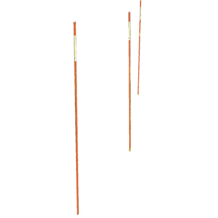 High-Visibility Orange Property Markers, 6'L