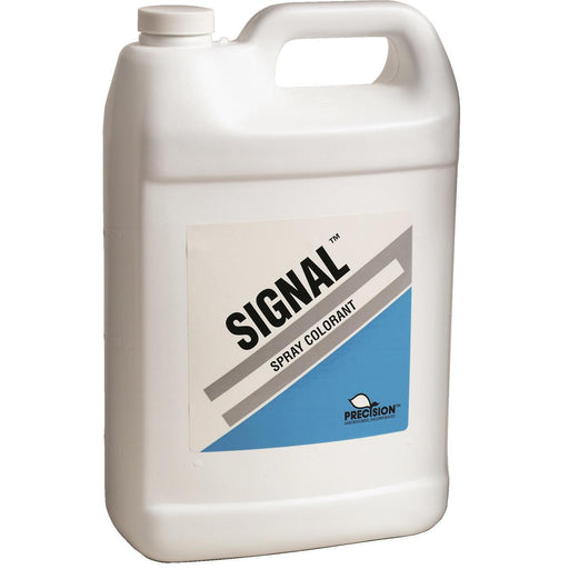 PRECISION Blue Liquid Spray Colorant, 1 gal.