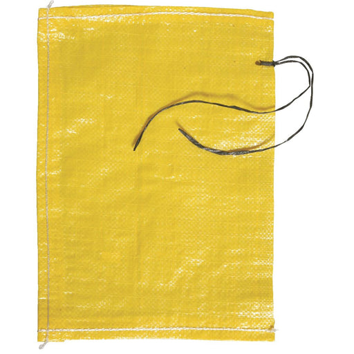 "Woven Plastic Bags with Tie, 10""W x 14""L"