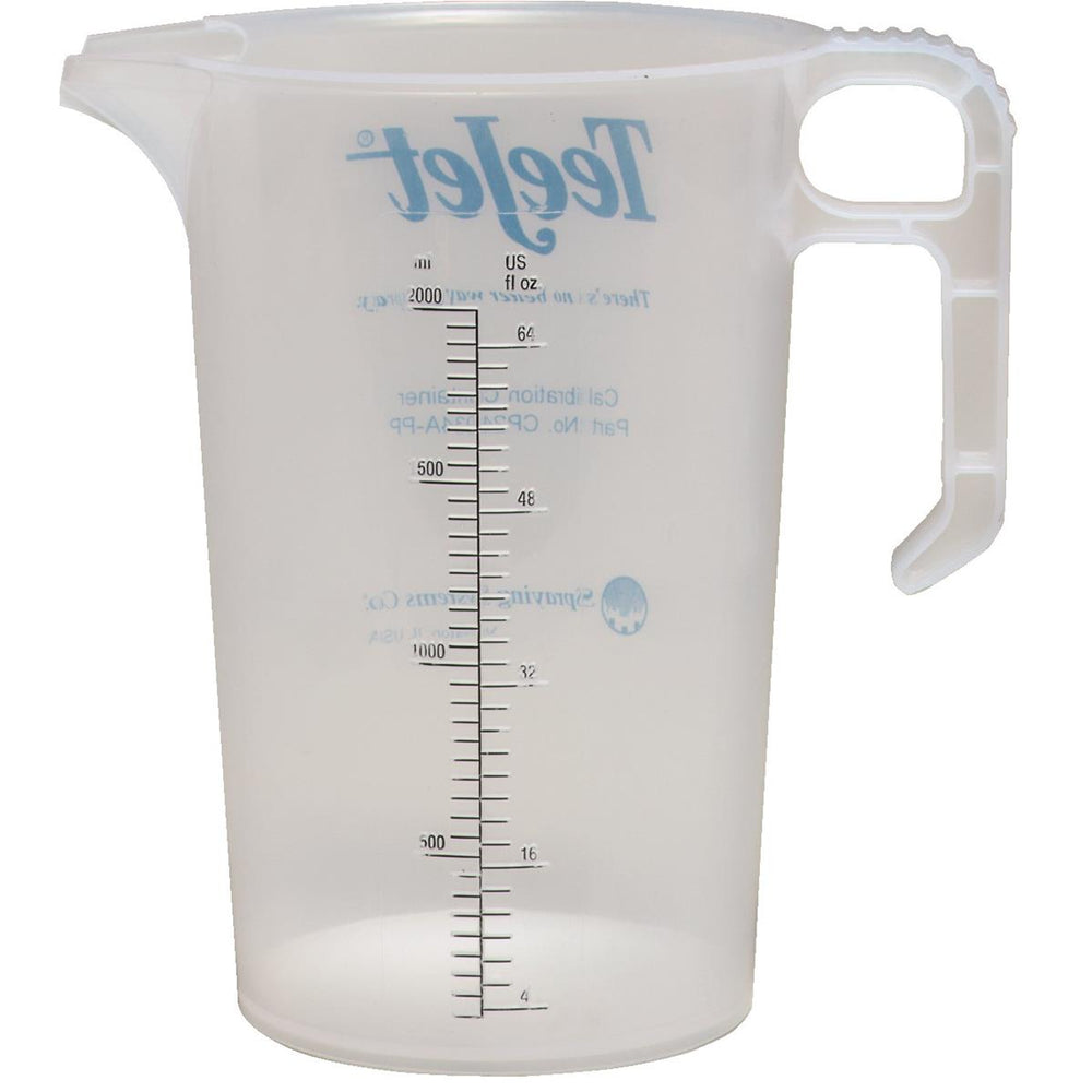 Calibration Container, 64 oz.
