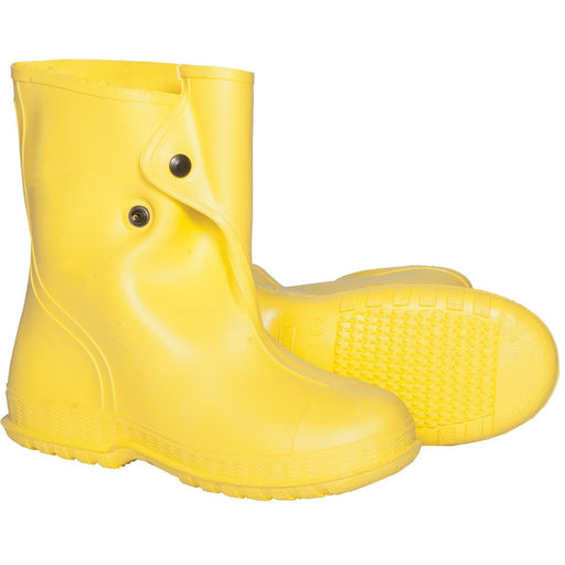 "Dunlop 10""H PVC Overboots, Yellow"