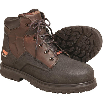 "Timberland Pro PowerWelt 6""H Steel Toe Leather Work Boots"