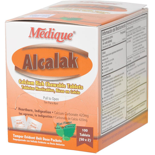 Alcalak™ Chewable Antacid Tablets