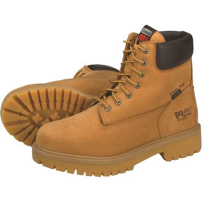 "Timberland Pro 6""H Steel Toe Wheat Boots"