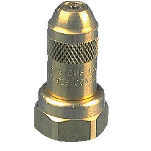 Brass adjustable ConeJet® 5500-X8 Tip