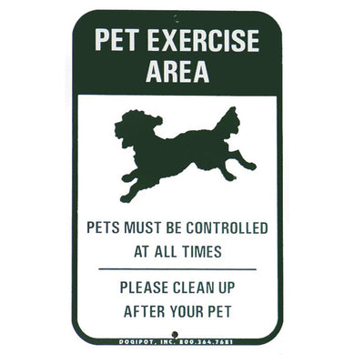 "Dogipot ""Off Leash"" Pet Waste Sign"