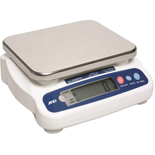 A&D Weighing Digital Tabletop Scales With 4.4 lb. Capacity